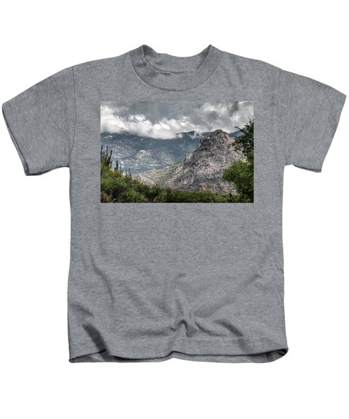 Catalina Mountains Kids T-Shirt