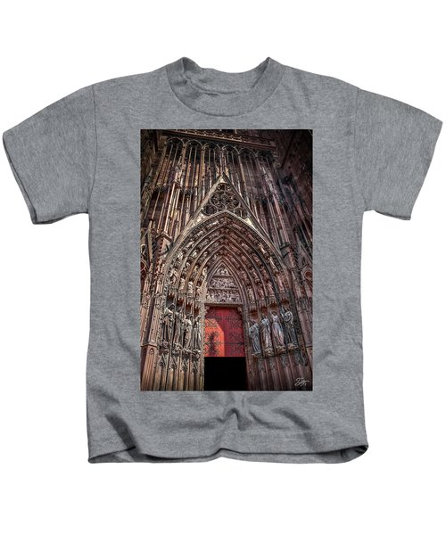 Cathedral Entance Kids T-Shirt