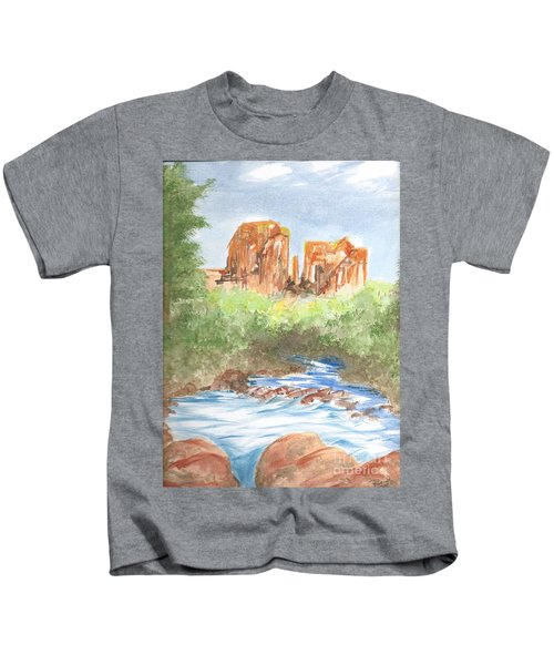 Cathedral Rock 2,  Sedona, Az. Kids T-Shirt