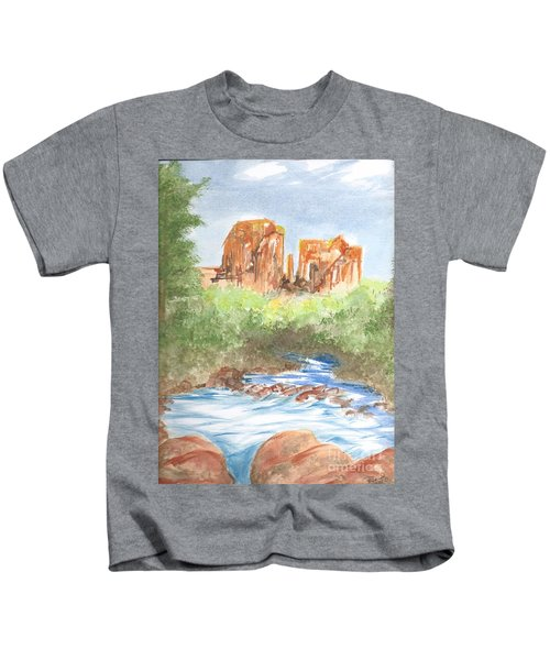 Cathedral Rock 2,  Sedona, Az. Kids T-Shirt