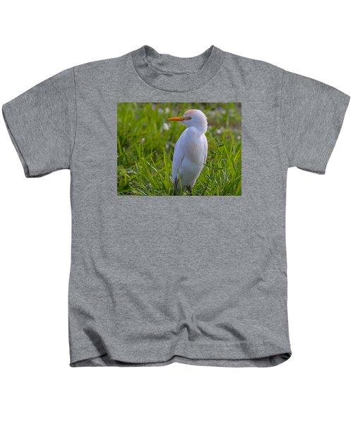 Cattle Egret Kids T-Shirt