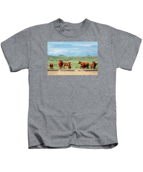 Cattle Guards Kids T-Shirt