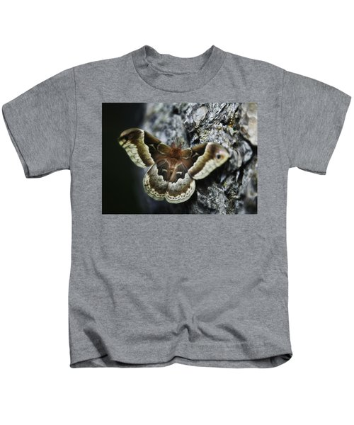 Cecropia Moth Kids T-Shirt