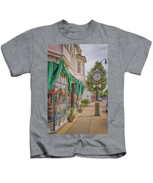 Cedarburg Street Clock Kids T-Shirt