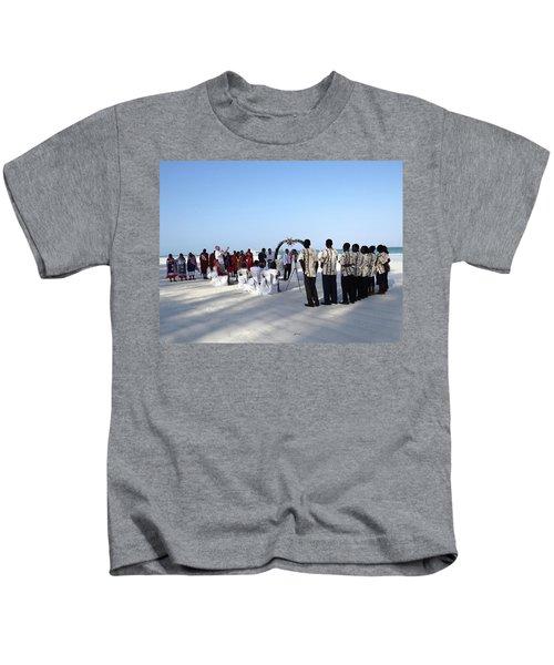 Celebrate Marriage In Kenya Kids T-Shirt by Exploramum Exploramum