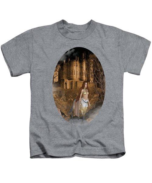 Centaur Castle Kids T-Shirt