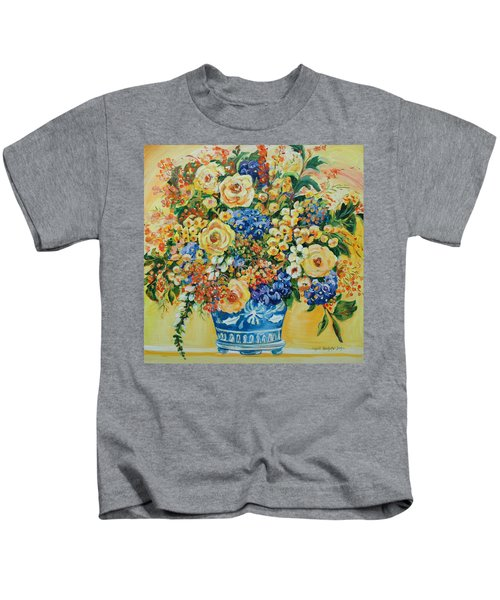 Ceramic Blue Kids T-Shirt