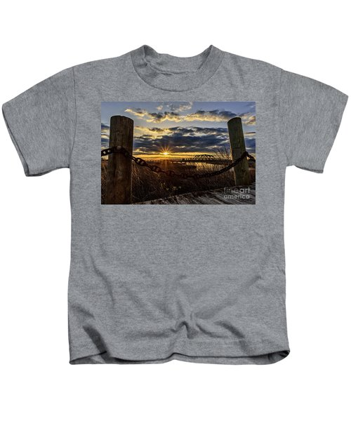 Chained View Kids T-Shirt