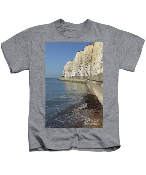 Chalk Cliffs At Peacehaven East Sussex England Uk Kids T-Shirt