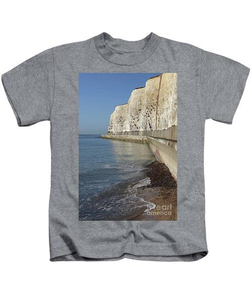 Chalk Cliffs At Peacehaven East Sussex England Uk Kids T-Shirt