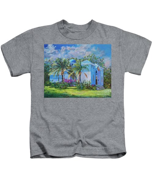 Chapel Of St. Panteleimon Kids T-Shirt
