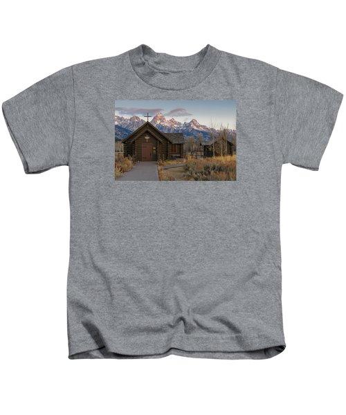 Chapel Of The Transfiguration - II Kids T-Shirt
