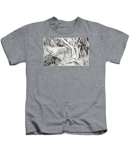 Charcoal Copse Kids T-Shirt