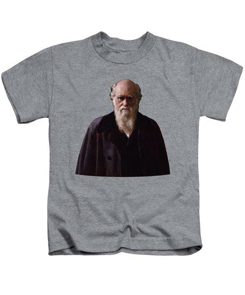 Charles Darwin - By John Collier Kids T-Shirt