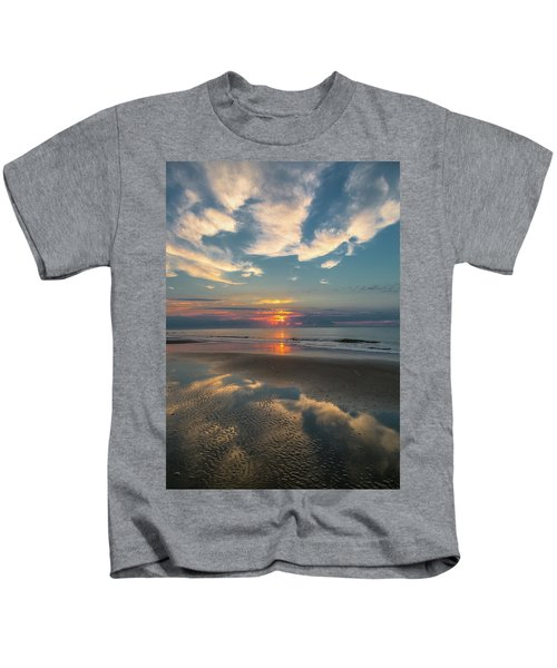 Charleston Coast Sunrise Kids T-Shirt