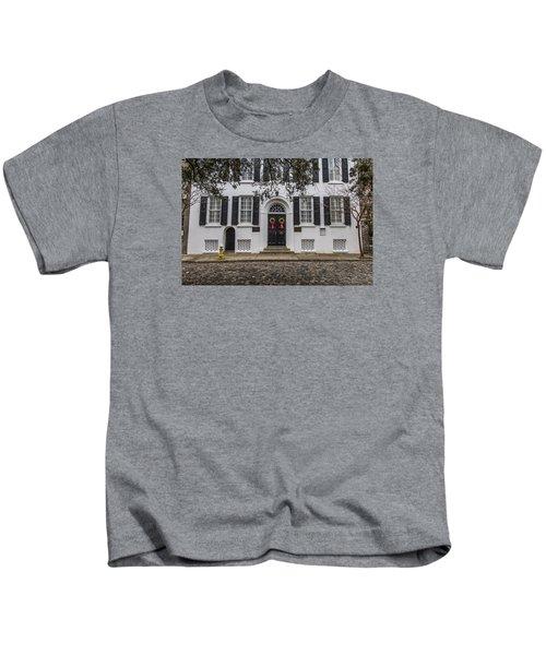 Charleston Doorway 3 Kids T-Shirt