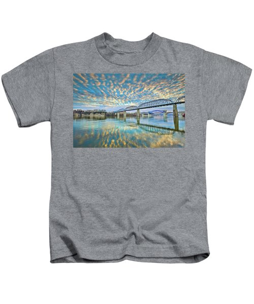 Chattanooga Has Crazy Clouds Kids T-Shirt