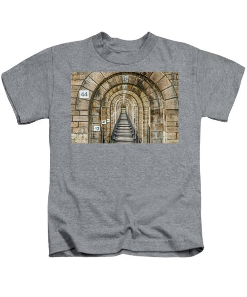 Chaumont Viaduct France Kids T-Shirt