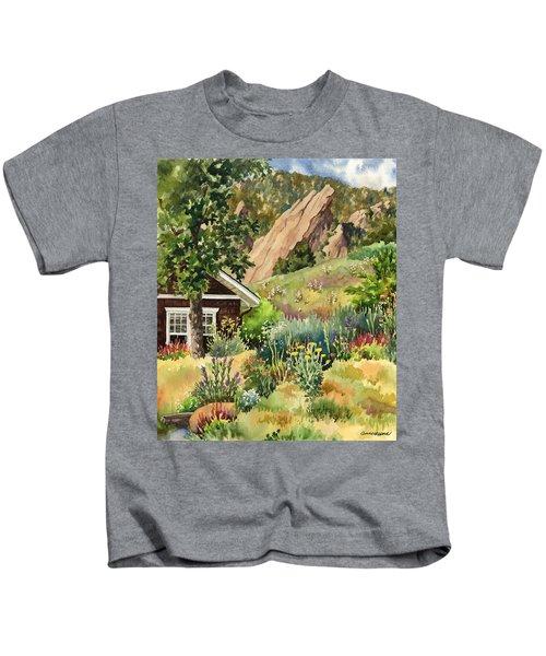 Chautauqua Cottage Kids T-Shirt