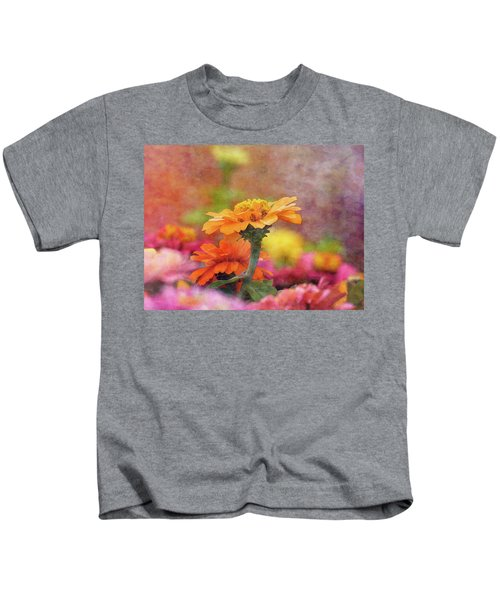 Cheerful Shades Of Optimism 1311 Idp_2 Kids T-Shirt