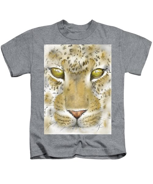 Cheetah Face Kids T-Shirt
