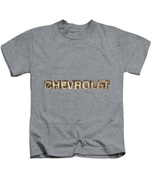 Chevrolet Chrome Emblem Kids T-Shirt