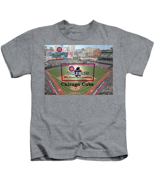 Chicago Cubs - 2016 World Series Champions Kids T-Shirt
