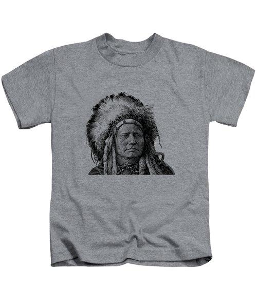 Chief Running Antelope Kids T-Shirt