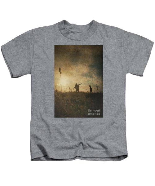 Children Playing Kids T-Shirt