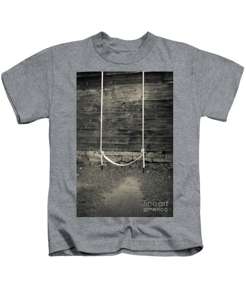 Child's Swing On An Old Farm Kids T-Shirt