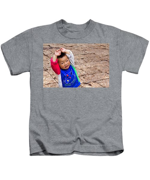 Chinese Boy Joy Kids T-Shirt