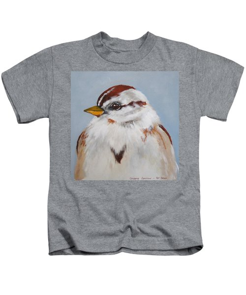 Chipping Sparrow Kids T-Shirt
