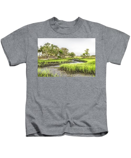 Chisolm Island - Low Tide Kids T-Shirt