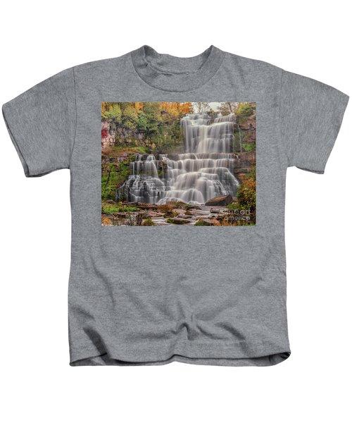 Chittenango Falls Kids T-Shirt