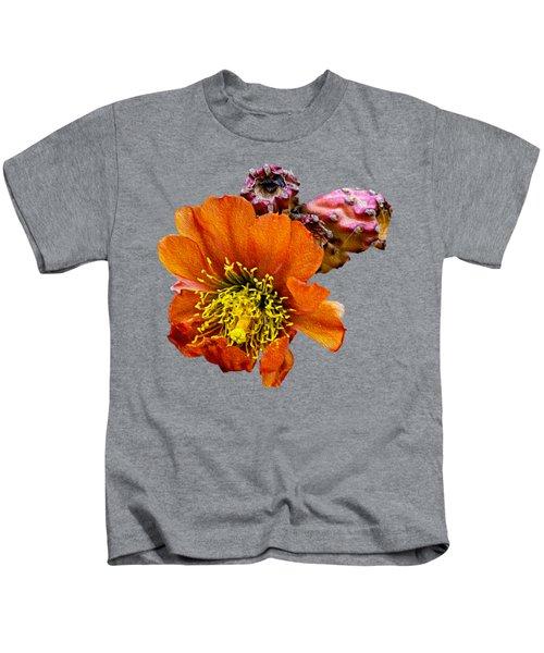 Cholla Flower Op60 Kids T-Shirt