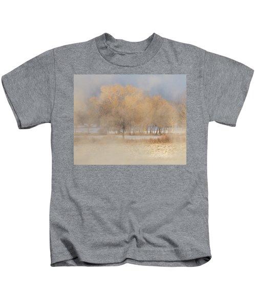 Christmas Eve Fog  Kids T-Shirt