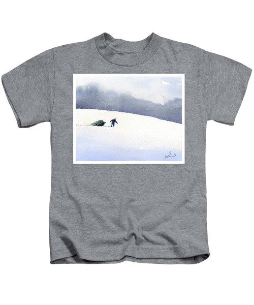 Christmas Past Kids T-Shirt