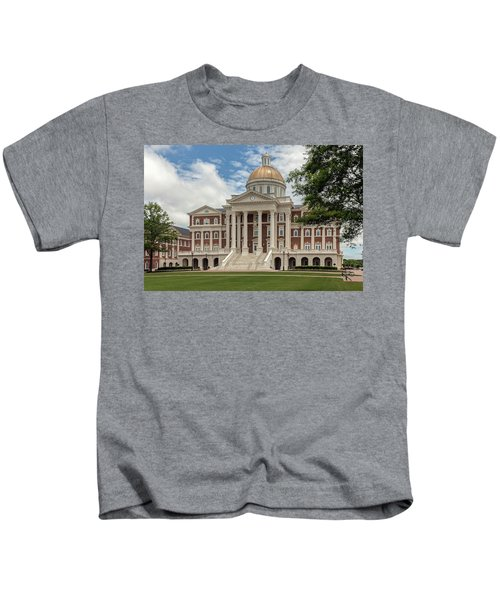 Christopher Newport Hall Kids T-Shirt
