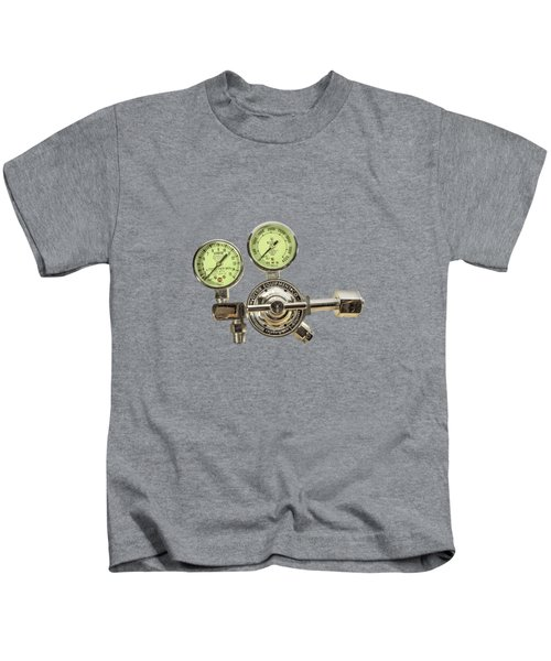 Chrome Regulator Gauges Kids T-Shirt