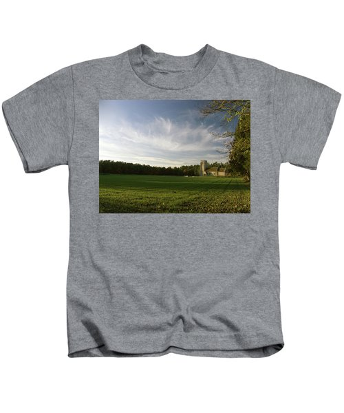 Church On The Edge Of A Forest Kids T-Shirt