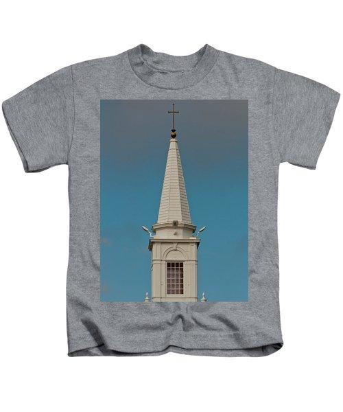 Church Steeple Kids T-Shirt