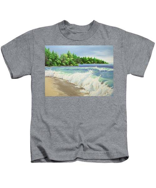 Churning Sand  Kids T-Shirt