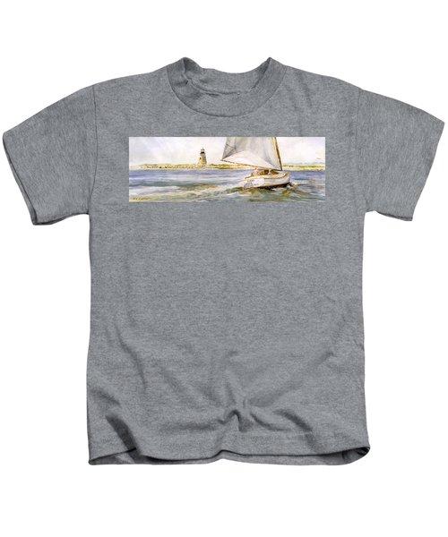 Cimba At Bird Island Light Kids T-Shirt