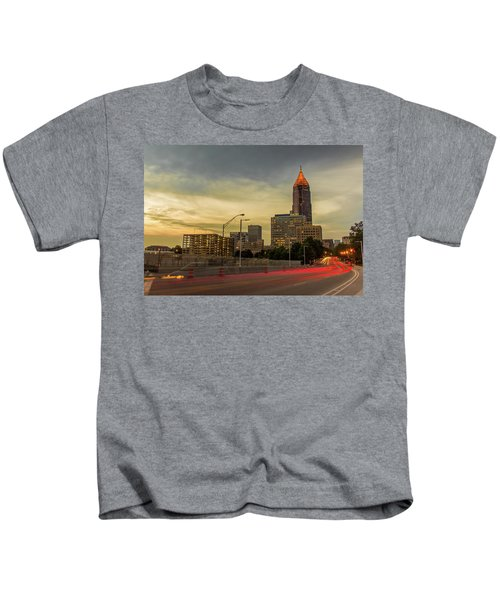 City Sunset Kids T-Shirt