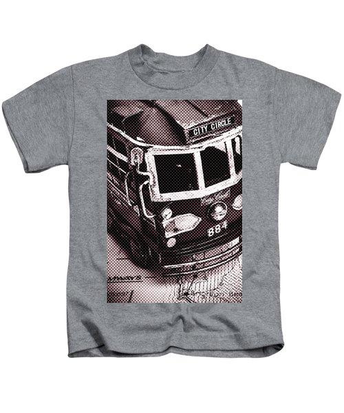 City Wall Art Tours Kids T-Shirt