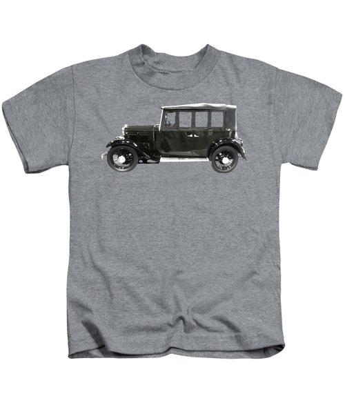 Classic Motor Black Art Kids T-Shirt