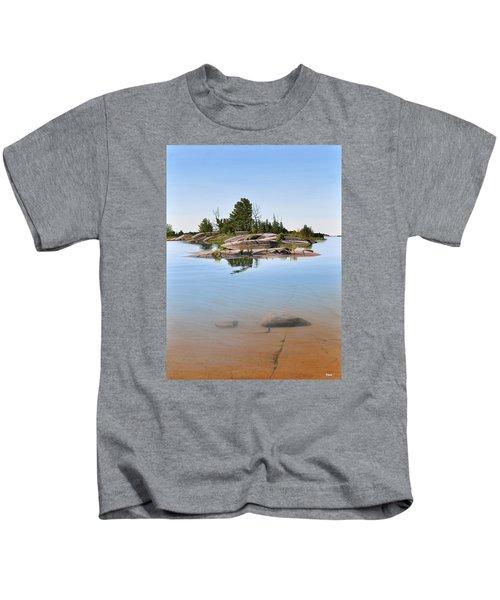 Clear Contentment Kids T-Shirt