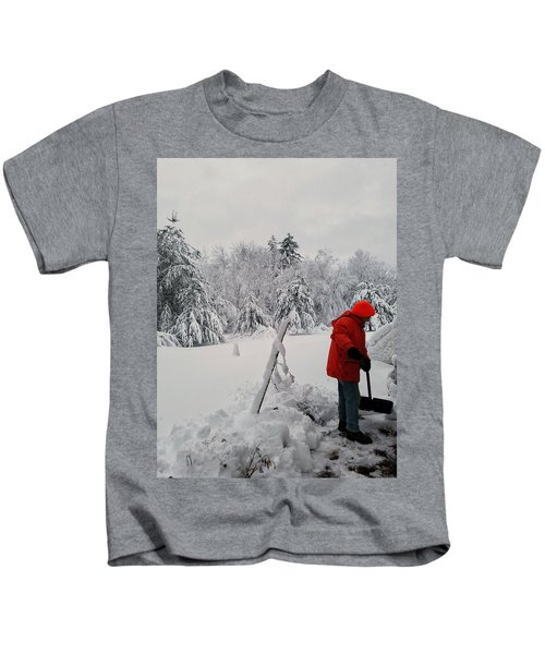 Clearing A Path Kids T-Shirt