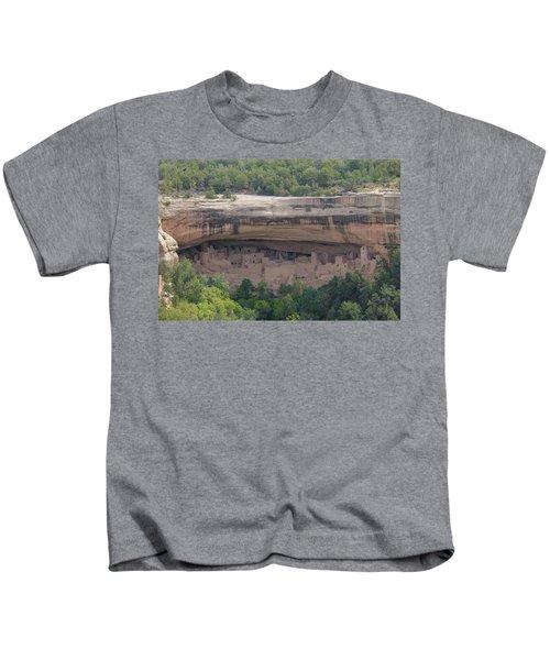 Cliff Palace Mesa Verde Kids T-Shirt