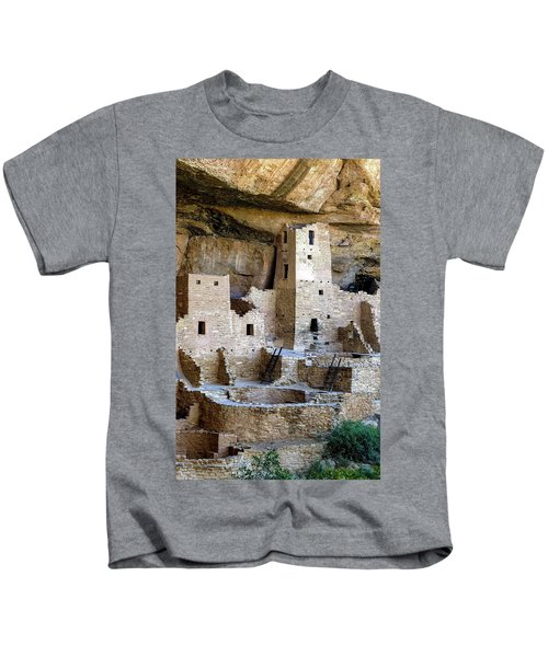 Cliff Palace Mesa Verde Kids T-Shirt